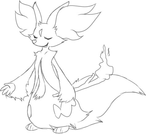 pokemon coloring pages delphox delphox coloring sheet coloring pages