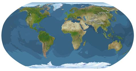 map of globe hobo dyer projection odt