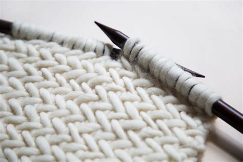 herringbone knit how to knit herringbone stitch watg