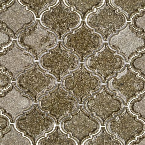 spanish olive arabesque glass tile