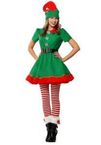 women s holiday elf costume