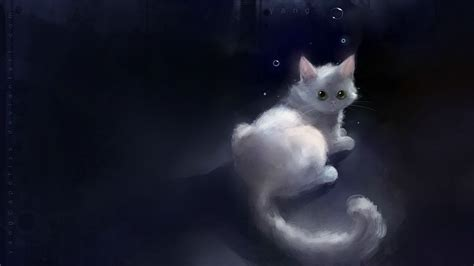 cat wallpaper deviantart polished speedpaint of lovely white cat wallpaper 21