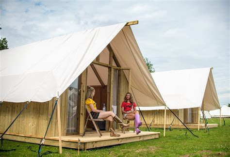Pop Up Cabin by The Pop Up Hotel Tented Cabins 016 The Sybarite