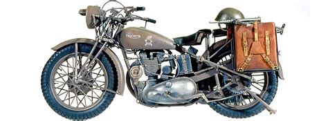 Triumph Motorrad Miniatur by Italeri 7402 Triumph 3hw Motorrad Bausatz 1 9