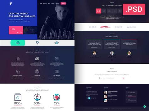 30 Newest Free Website Templates For 2017 Psd Website Templates Free 2017