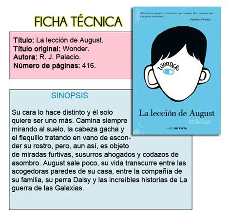 libro la leccion de august tributo entre libros rese 241 a la lecci 243 n de august wonder de r j palacio