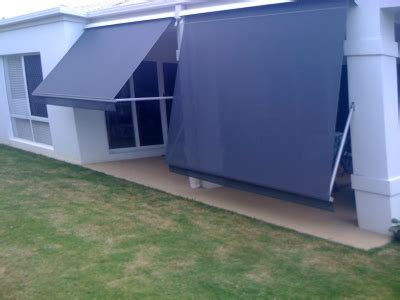 awning screen panels awnings sunshine coast