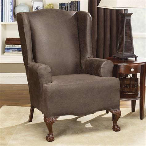 slipcover recliner chair reclining wing chair slipcovers chairs seating