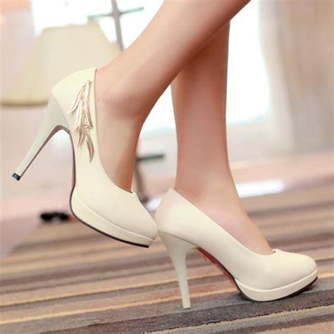 colored high heels fashion toe closed stiletto high heel basic