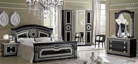 classic bedroom chairs aida black w silver camelgroup italy classic bedrooms bedroom furniture