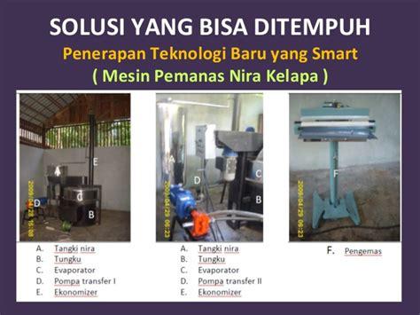indikator desain kemasan industri gula kelapa rakyat