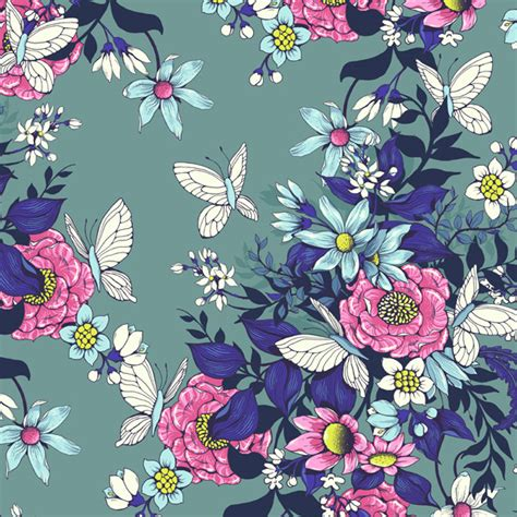 photoshop pattern to illustrator use photoshop to create a flowery and seamless pattern for