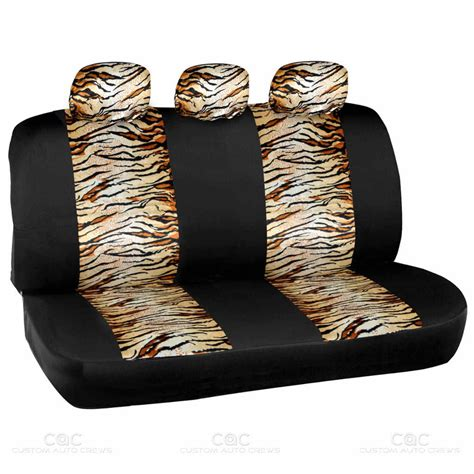 tiger seat covers for cars tiger 2 tone car seat covers beige for auto steering wheel