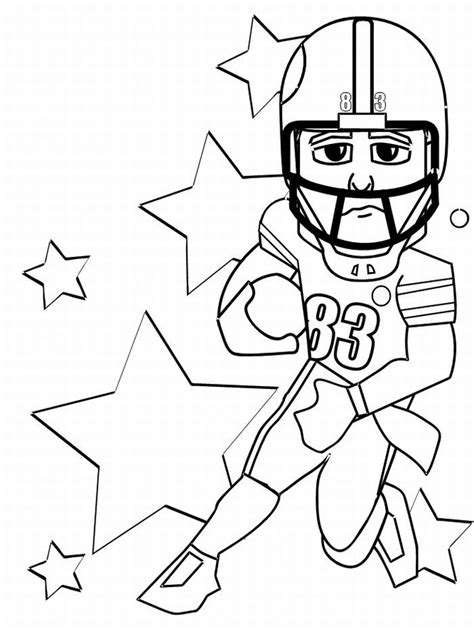 free football coloring pages for kids az coloring pages