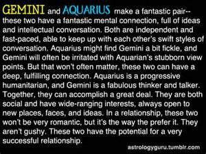 aquarius and gemini quotes quotesgram