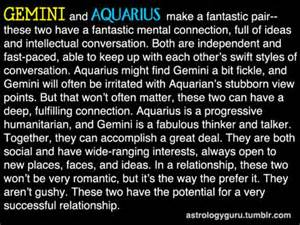 the astrology guru gemini compatibility with aquarius