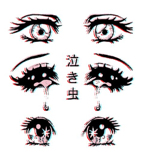scary drawing cute eyes anime kawaii horror manga pastel