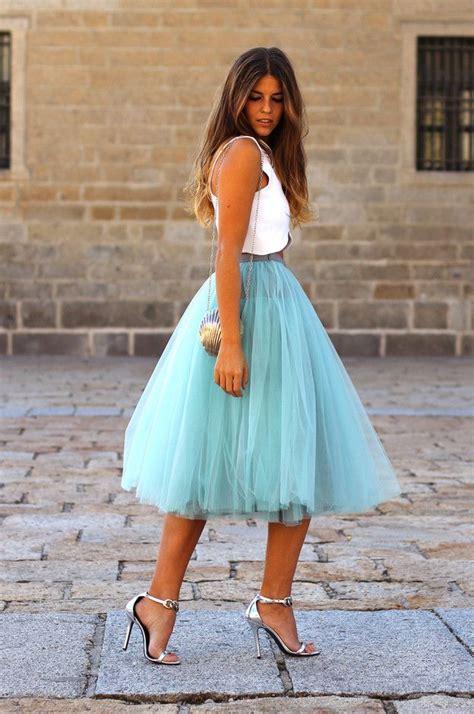 Tulle Skirt trend spotted tulle skirts go feminine 2018 fashiongum
