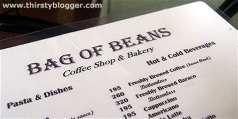 Bottomless Coffee and More At Bag of Beans Tagaytay   Thirsty Blogger