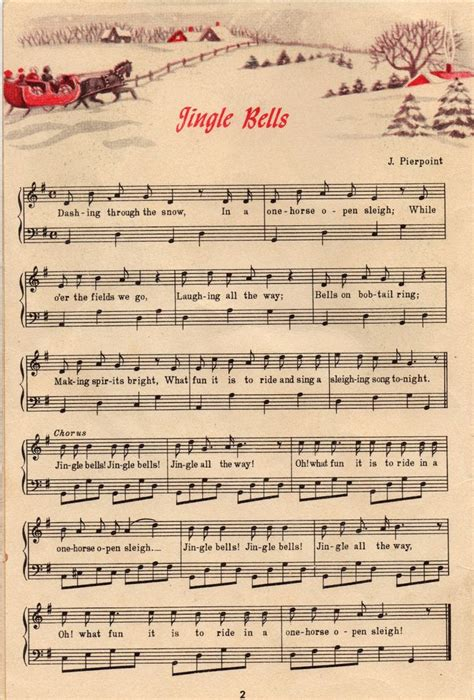 printable vintage christmas decorations 104 best christmas assorted sheet music free to print