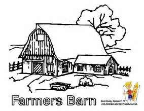 13 Farm Barn Tractor Coloring At Pages Book For Kids Boysgif sketch template