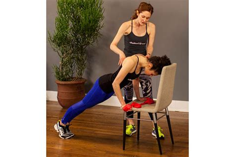 3 ways to workout at home using your furniture bebeautiful