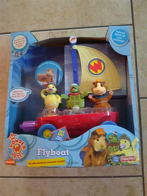 Nick Jr Wonder Pets Fly Boat | fisher price nick jr wonder pets flyboat new ebay