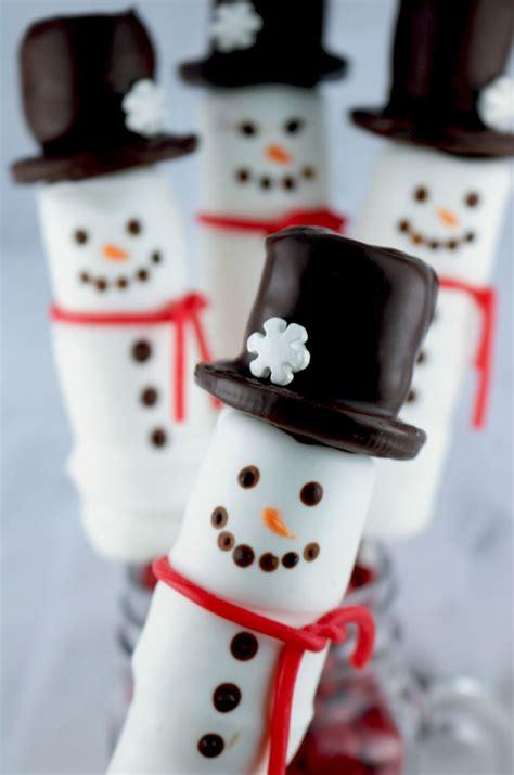 snowman marshmallow pops  sisters