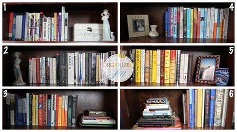 bookshelf tour organization pretty neat living