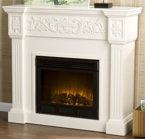 antique white electric fireplace shabby antique white chic electric fireplace tv cabinet ebay