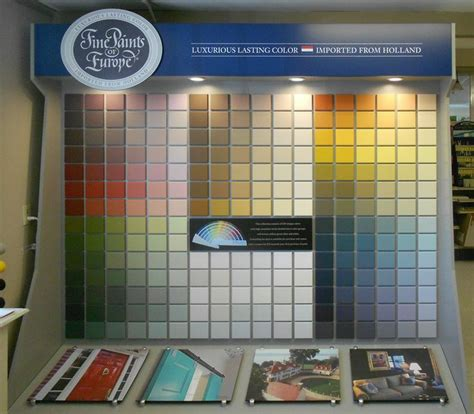 paints of europe display brilliant exterior marine