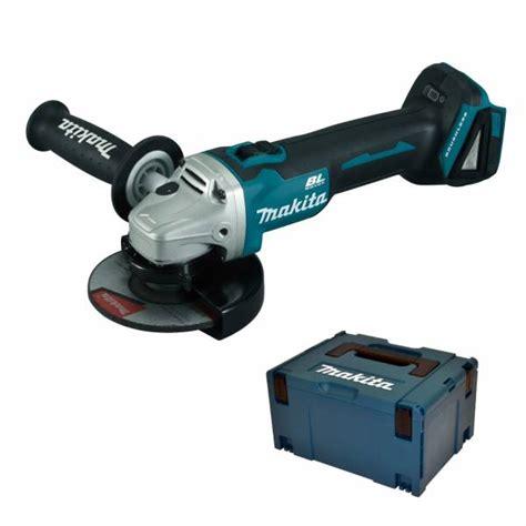 Bor Cordless Makita makita cordless angle grinder dga506y1j 18 v accessories makpac ebay
