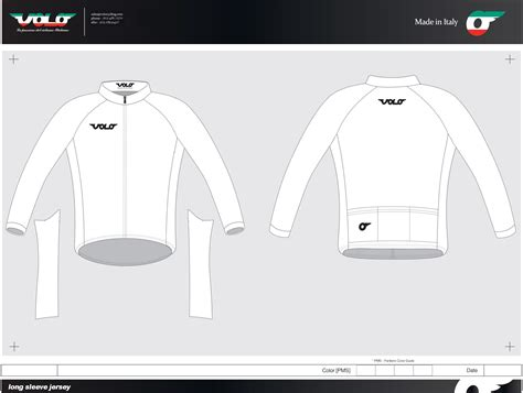 cycling shirt template design templates volo cycling