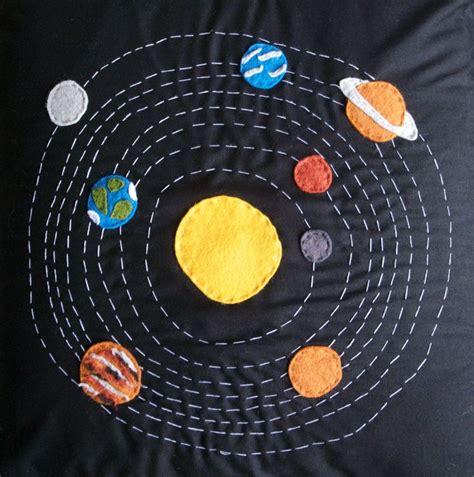 Fun To See Wall Stickers colcha con decoraci 243 n del sistema solar craft
