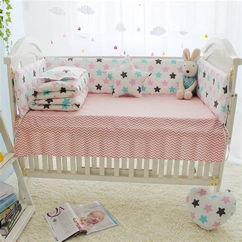 Crib Bedding Sets With Bumpers 7 Sizes Cheap Baby Bedding Set Baby Bed Bumper Set Crib Bumper Mattress Infant Bed Around