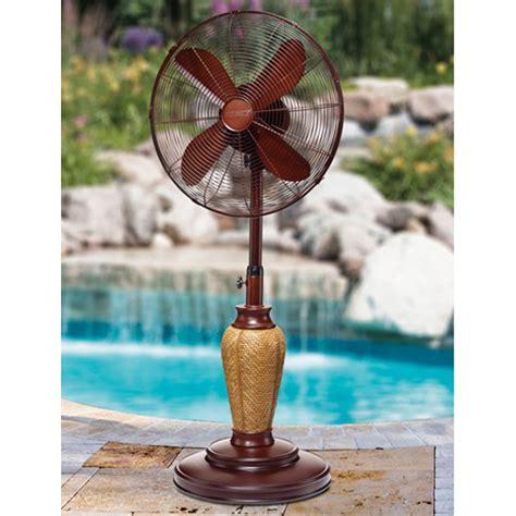 deco breeze outdoor fan deco breeze adjustable outdoor standing fan kailua