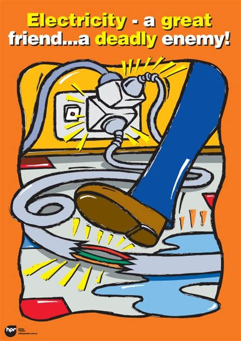 electrical safety poster ideas www pixshark images