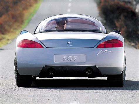 peugeot 607 coupe 2000 peugeot 607 feline concept peugeot supercars net