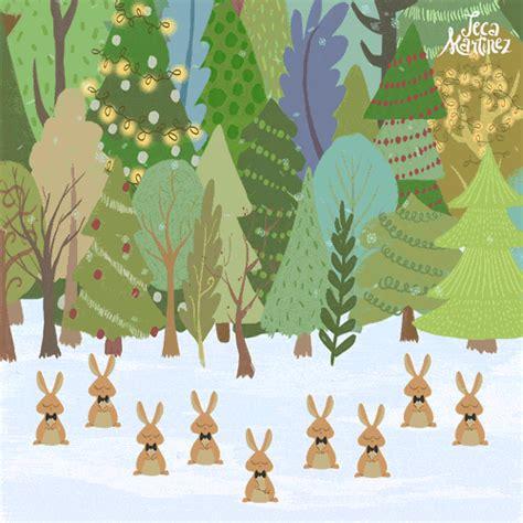 christmas rabbit gif  gifer  redfang