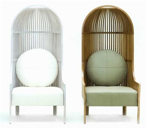 Furniture Lounge Chair Design Ideas High Back Chair Design Offering Bird Cage Like Furniture For Home Decorating