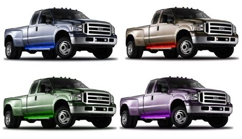 led running board lights for trucks 60 inch led running lights up trucks with clearance