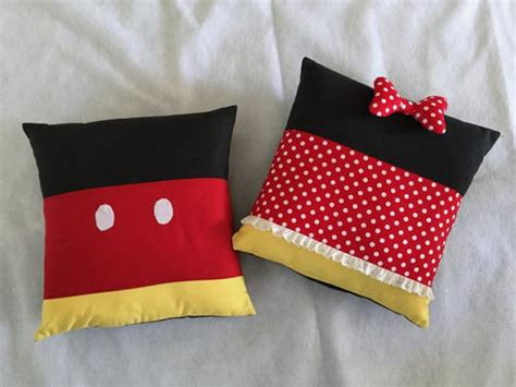 Mickey And Minnie Pillows by Minnie And Mickey Inspired Pillows Allfreesewing