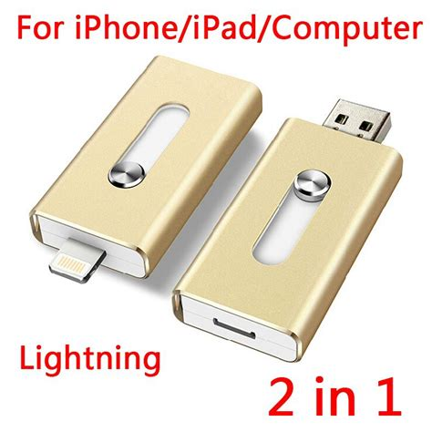 Sale Usb Otg Lightning Usb Flash Drive 16gb 1 100 real capacity 16gb 32gb 64gb lightning usb flash drives otg for iphone computer gift usb 2
