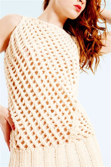 army knitting pattern army of knitters yarn knitting pattern roscoff lattice tank