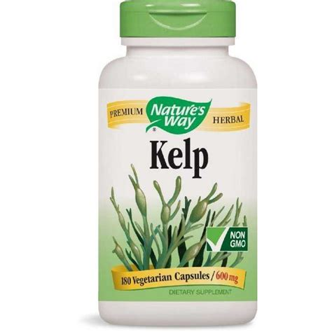 supplements to sway buy nature s way kelp capsules india benefits of