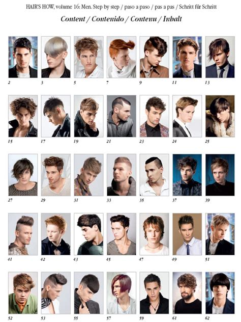 hairstyles book hair s how vol 16 men hairstyles hair and beauty
