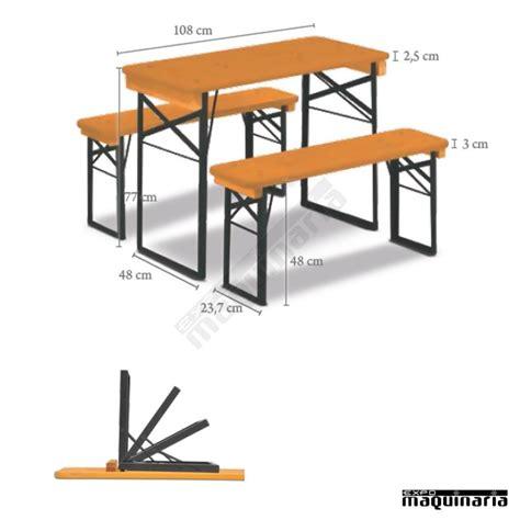 mesas y bancos plegables mesa plegable con bancos de catering shorty