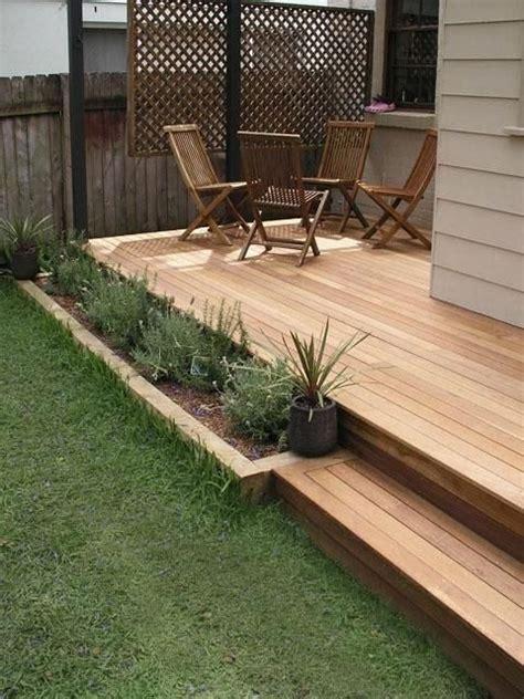 raised decking ideas for small gardens garden design