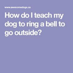 how to ring bell go outside pin by kishiko kawano on dogs le veon bell
