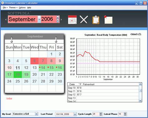 Calendar Calculator Free Ovulation Calendar Program The Best Free Software For